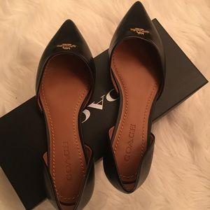 Coach sandals - black color